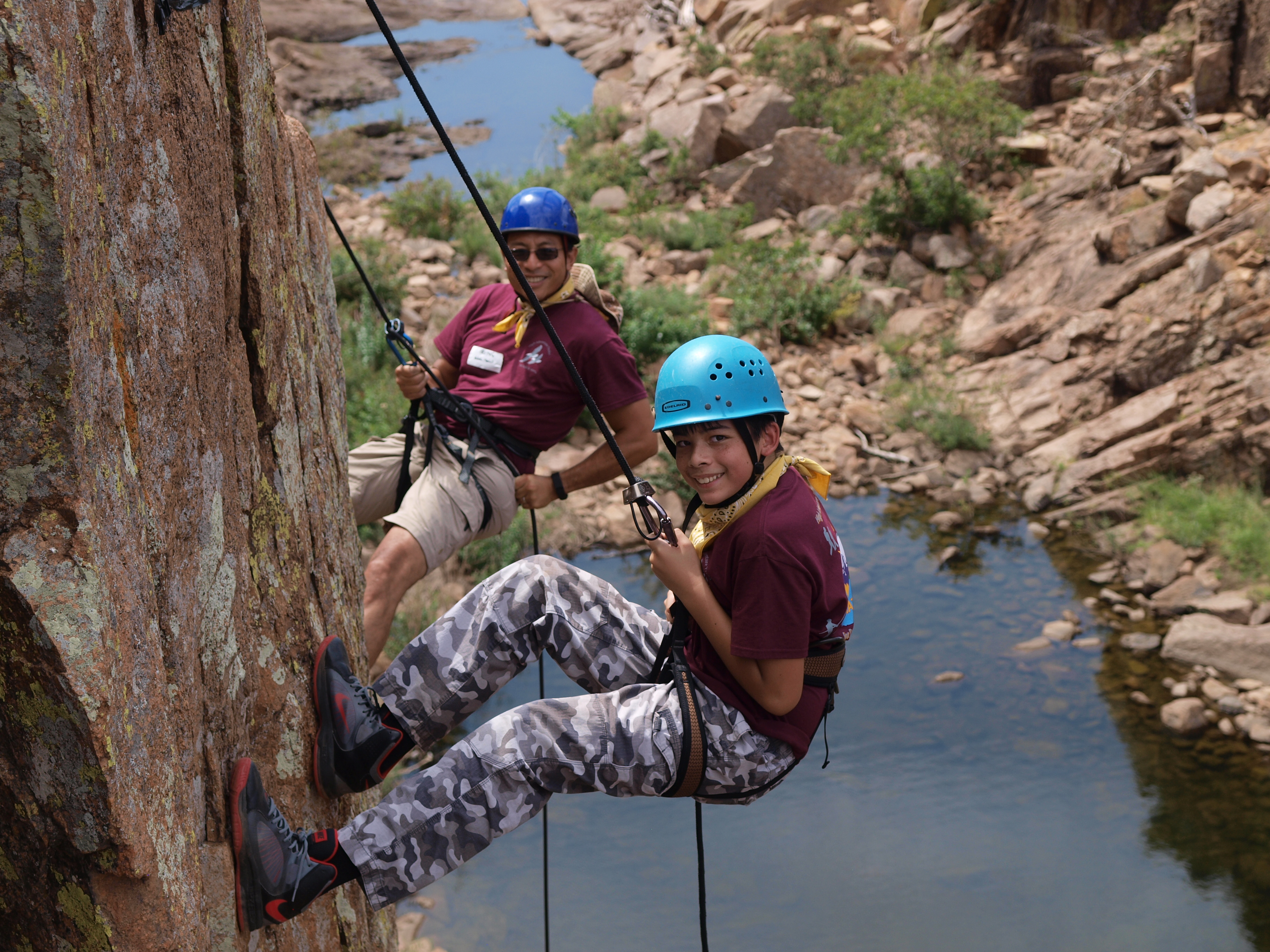 D&S – 7th Rock Climbing & Rappelling