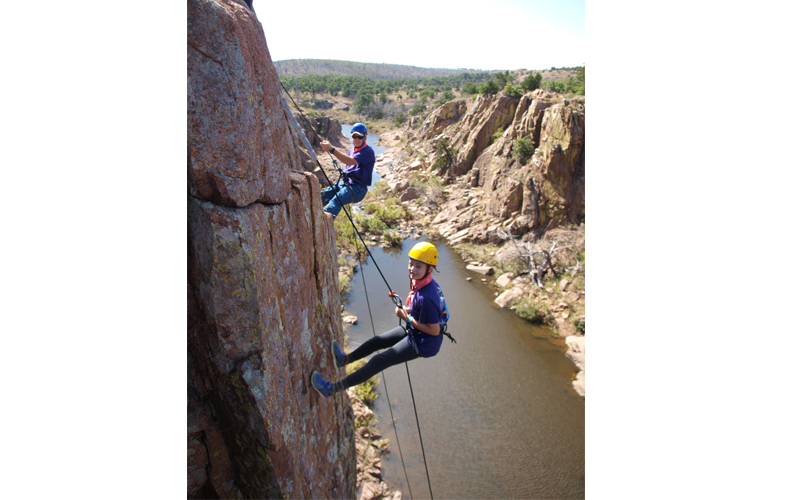 D&D – 7th Rock Climbing & Rappelling II